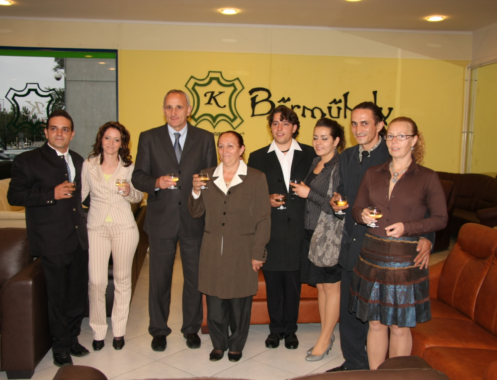 Bemutatótermünk megnyitója anno 2010