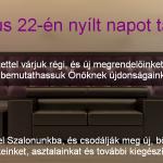 Tavaszi Újdonságok Nyílt nap a Kasza Bőrműhelyben! (2014)